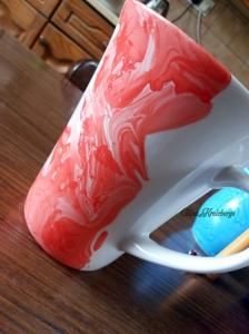 Coloured mug wm