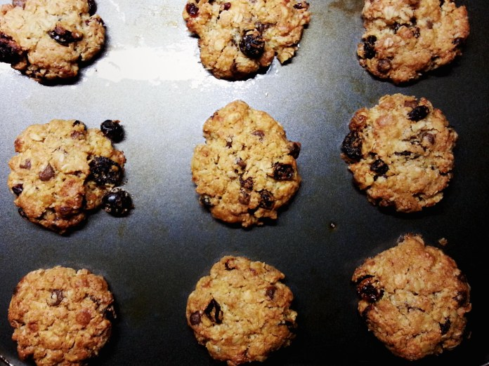 Oats and Cranberry Cookies 1